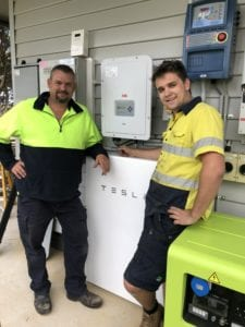 Tesla Powerwall Installed in Cobains Gippsland