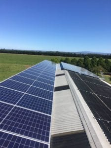 Solar Panels on roof in Denison, Gippsland
