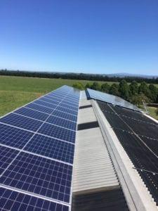 Solar Panels on roof in Denison, Gippsland