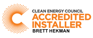 Clean Energy Council Accredited Solar Installer