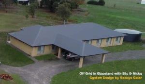 Quality Lifestyle with Off-Grid Solar in Gippsland