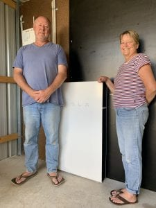 Tesla Powerwall in Rural Gippsland