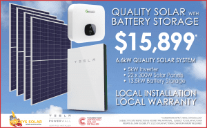 Solar & Battery Storage Offer